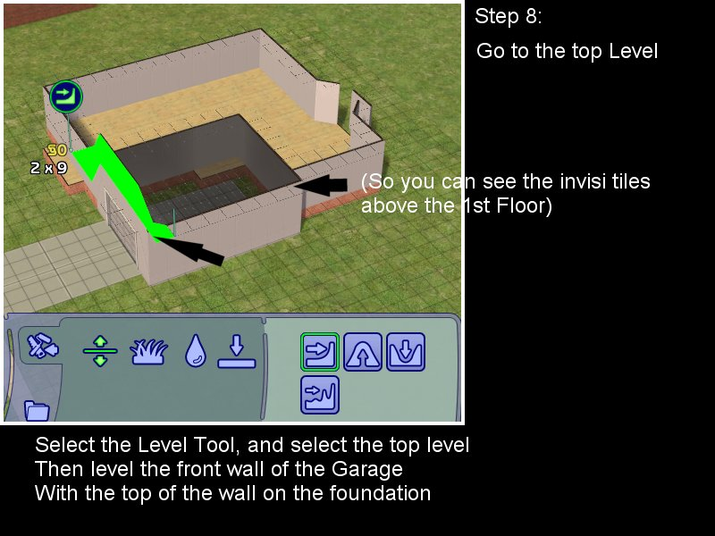 Sims 3 Constrain Floor Elevation Garage : How to add a garage house with foundation leefish